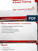 Session 1 Introduction and Objectives of RHCSA