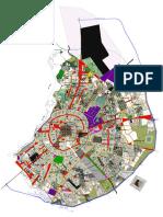 plano de santa cruz- Bolivia según plan regulador