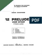 12 preludi badings
