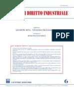 Rivista Diritto Industriale -6- 2008