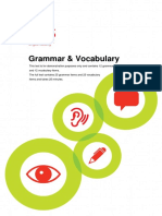 Aptis Grammar and Vocabulary Demo Test Pp