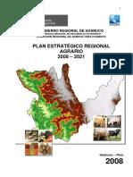 Plan Estratégico Regional Agrario Huanuco 2008-2021