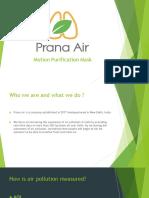 Prana Air Purifier Ppt