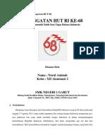 Contoh Proposal dan Laporan HUT RI.docx
