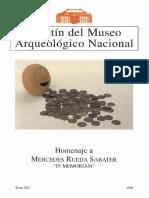 UN FRAGMENTO ARQUITECTÓNICO VISIGODO DE ÁVILA