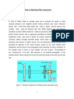 Application of NDT Methods on High Speed Rain Components(Assignment 2)