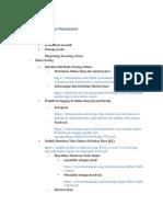 Outline Spektrum PKK Bisnis Daring dan pemasaran