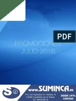 Ofertas Julio 2018