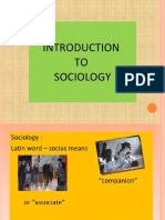 Sociology With Family Planning Chapter 1