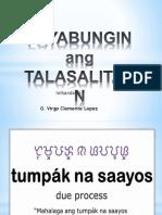 Payabungin Ang Talasalitaan