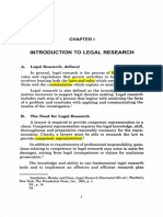 Legal Research Chapter 1-2