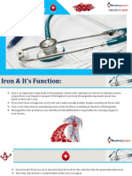 Anemia Iron Deficiency Test