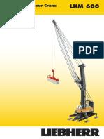 Liebherr Lhm 600 High Rise Mobile Harbour Crane Datasheet English