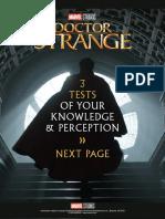 Doctor Strange Activity Sheets