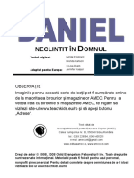 Daniel - Neclintit În Domnul AMEC