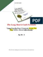 Lazy Man Formula