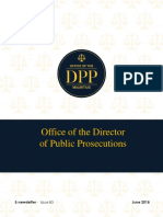 Newsletter of the Office of the Director of Prosecution - Issue 83