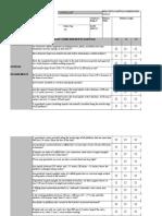 Bracket Scaffold Field Inspection Checklist