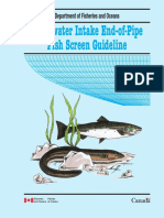 Freshwater Intake End-Of-Pipe Screen Guideline