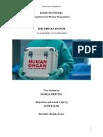 The Organ Donor - Text in Engleza