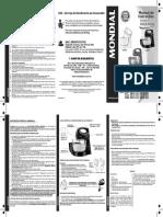 7899882305111 Manual Batedeira PRÁTICA Mondial B 12NP