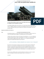 Con Un Nuevo Misil, S-400 Ruso Puede Atacar Satélites de EEUU - Elintelecto