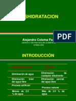 9. DESHIDRATACION