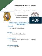 Informe 2- Calibración de Material