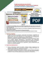 Temario Sistema de Gestión de Seguridad y Salud en El Trabajo
