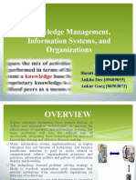 Knowledge Management,Information Systems and Organ is at Ions