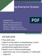 Manufacturing Enterprise System