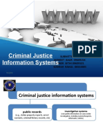 Criminal Justice Information Systems