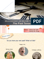 The Past Tenses