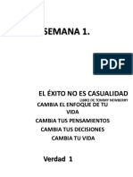 SEMANA 1 Proyeccion Ministerial