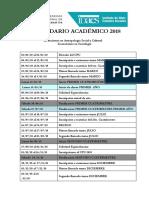 Calendar Ioa CA 2018