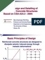 Seismic Design of Rc Structures - Saatcioglu