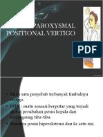 Benign Paroxysmal Positional Vertigo