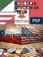 Constitucion de Eeuu y Peru