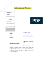 Direito Internacional Público I