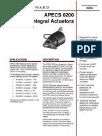 APECS 0200 Integral Actuators