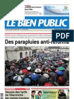 Le Bien Public 8 Septembre 2010
