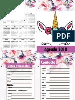 Agenda Unicornio 2018