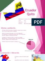 Ecuador Quito Valentina Olivares