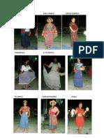 Trajes Tipicos de Los 22 Departamentos de Guatemala