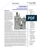 VariStroke-I Electro-hydraulic Actuator Product Specification 3397 F