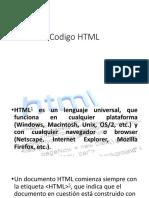 Codigo HTML