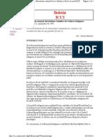 Bautista Carlos.- Fortalecimiento de La Autoridad Comunitaria Camino a La Reconstruccion de Un Pueblo (Parte I de Boletin ICCI)