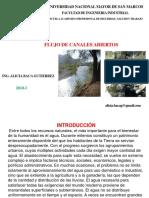 15 Flujo de Canales Abiertos Mecanica de Fluidos 2018-i (1)