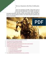 Características de Los Guerreros de Dios Calificados Para La Batalla