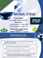 Referat Mioma Uteri Belum Tambahan